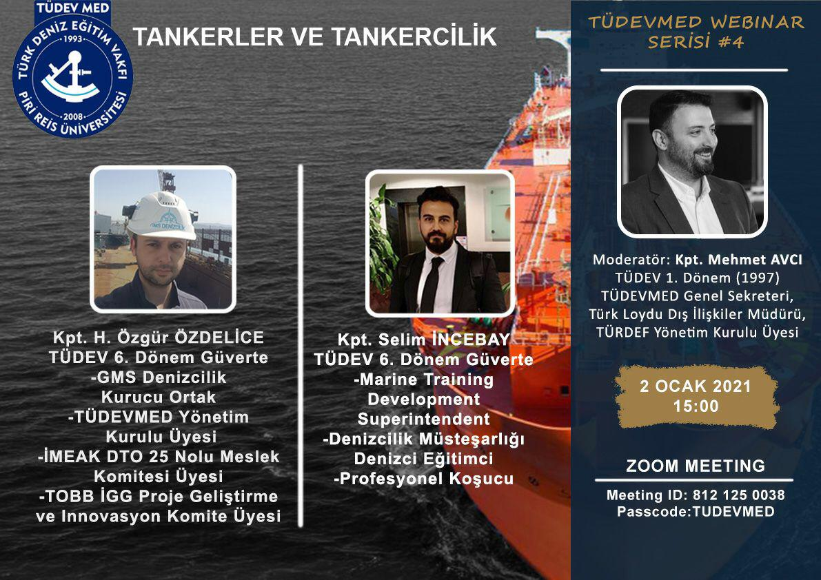 TÜDEVMED Webinar Serisi #4 - Tankerler ve Tankercilik